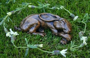 lavender-hare-sculpture