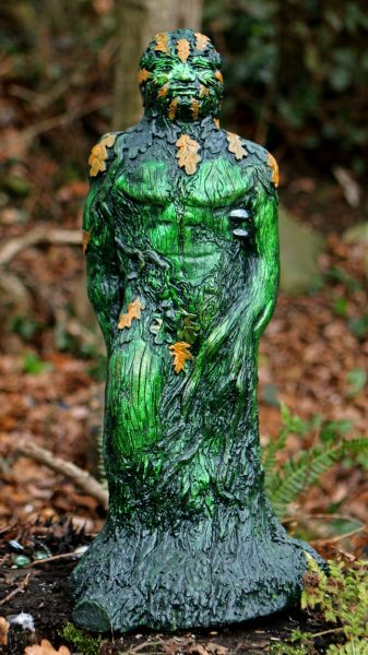The God Of The Woods Green Man Sculpture Spirit Of The