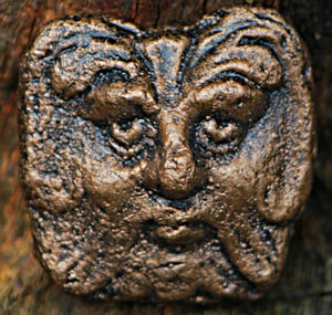 chewton-mendip-green-man-plaque