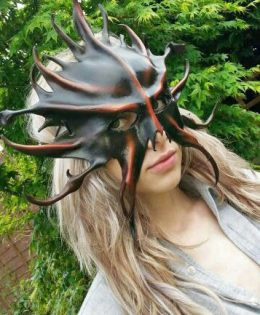 abaddon leather mask