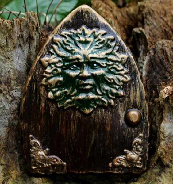 green-man-fairy-door