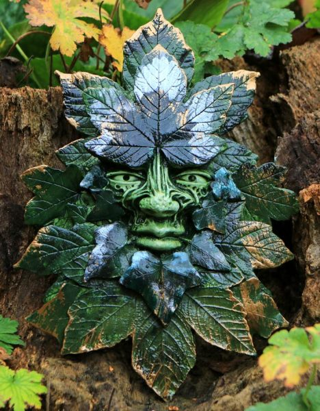 Old Man Of The Forest Green Man Spirit Of The Green Man