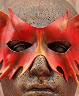 autumn-oak-leaf-mask