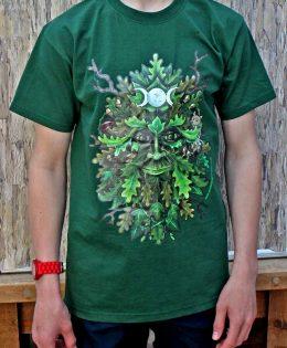 green-man-t-shirt