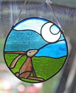 Hare-stained-glass-hanger
