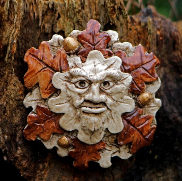 little-oak-green-man