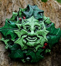 holly-king-green-man-wall-plaque