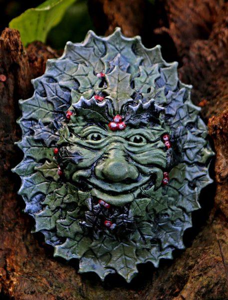 yule-green-man-sculpture