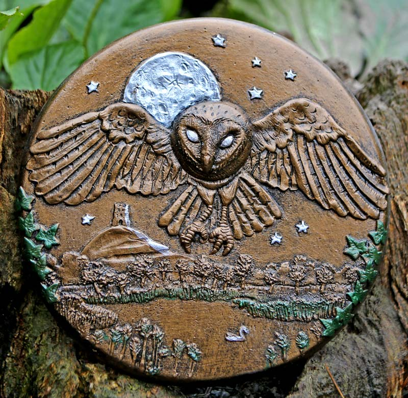 barn-owl-over-the-tor-plaque