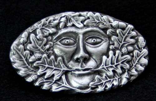 green-man-belt-buckle
