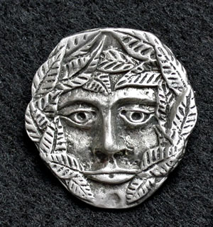 green-man-brooch