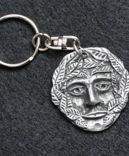 green-man-keyring
