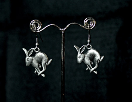 hare-earrings