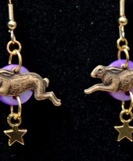hare-star-earrings