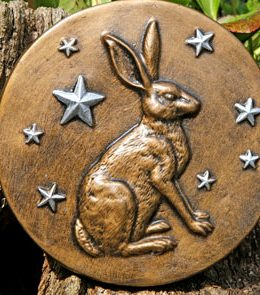 hare stars sculpture