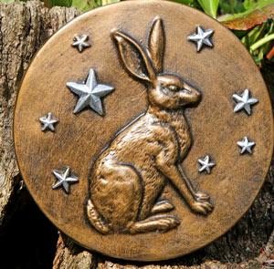hare stars sculpture