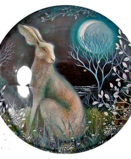 mystic-white-hare-paperweight