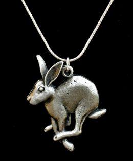 running-hare-pendant