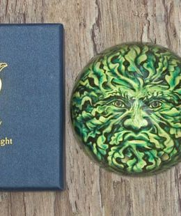 green-man-paperweight
