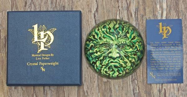 green-man-paperweight
