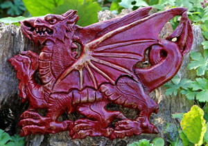 welsh-dragon-wall-plaque