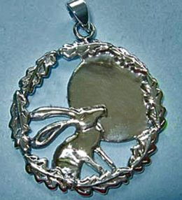 hare necklace cover