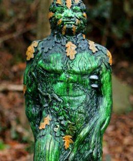 green-man-standing
