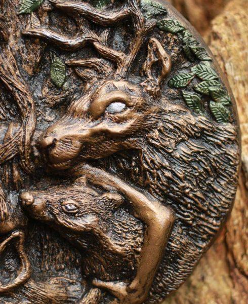 deer-elen-ways-plaque