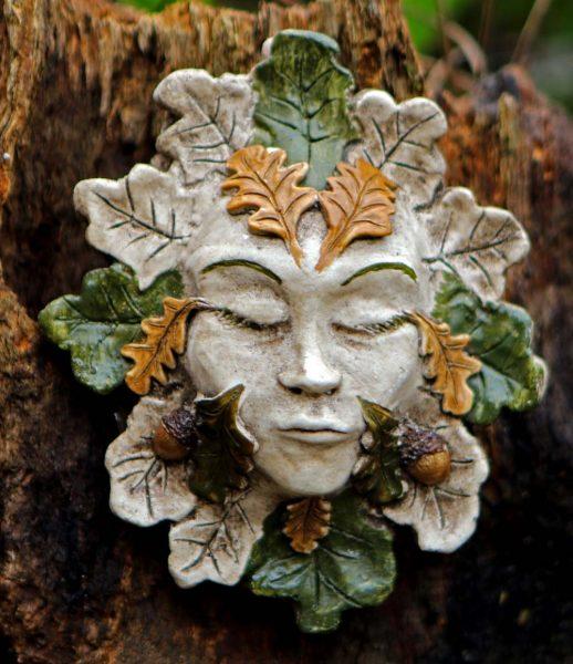 Oak Green Lady Spirit Of The Green Man