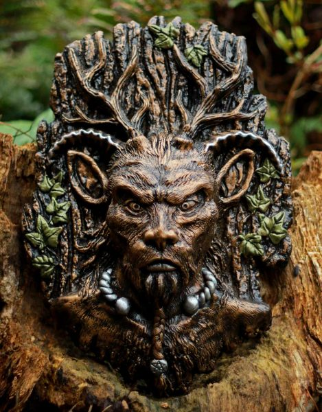 Lord Of The Wild Wood Sculpture Spirit Of The Green Man
