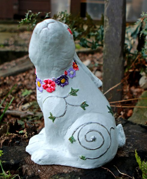 white-hare-sculpture