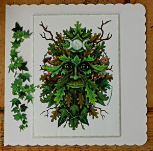 green-man-cards