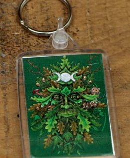green-man-keyring