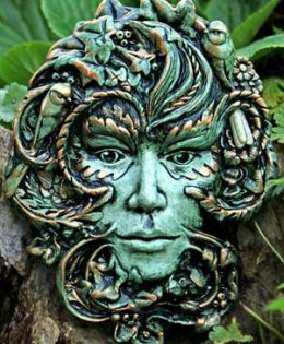 green-lady-plaque-by-k-minton
