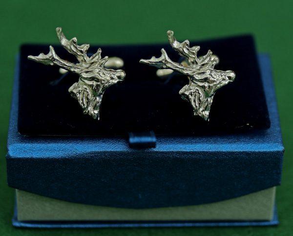stag-cufflinks