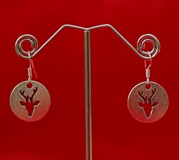 silver-stag-earrings