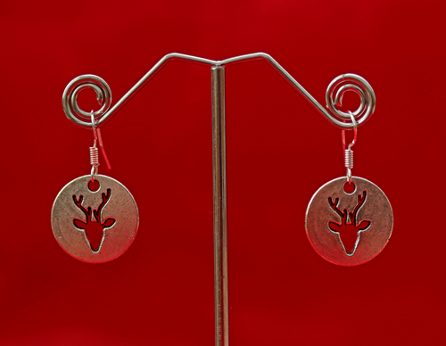 stag-silver-earrings